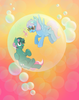 'Even my bubbles are hearts' by MSLynk