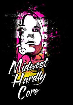 Midwest Hardly Core Design by dubbinmusic