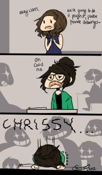 One of the biggest downfalls of being an artist. by Chrissytor