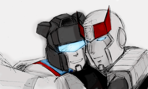 prowl and jazz 3 by iiskaa