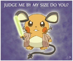 Don't judge him by his size by pichu90