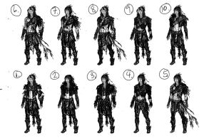 Thumbnails for Character Raven by sacredwolf000