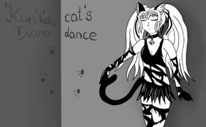 cat's dance - Dia Kunikida by DianaTan