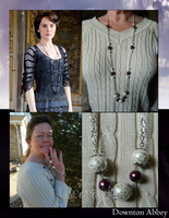 Downton Abbey: Mary's Necklace by DOC-Ash1391