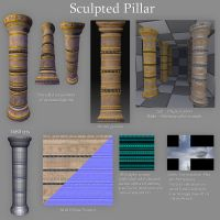 Sculpted Pillar by LaithArkham