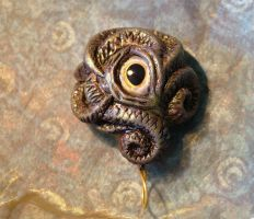 Shoggoth Podling Amulet2 by Jurikova