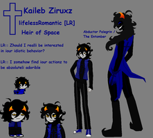 Homestuck OC - Kaileb Ziruxz by lifelessRomantic
