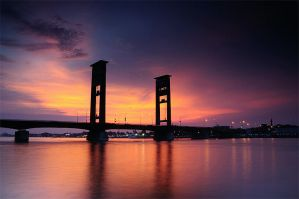 ampera bridge 2 by tribuana