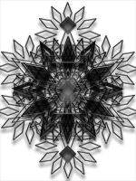 A Black Snowflake 02 by VolatilePlums