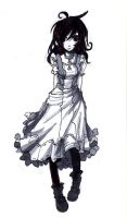 Victorian girl by Jump-Button