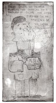 My first etching by Mensaman