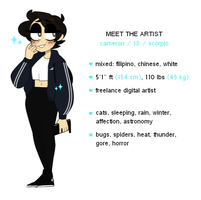 meet the artist by mewrderous