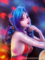 Jinx Halloween! Happy October! by Prywinko