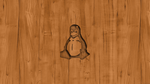 Linux Wood Wallpaper by TomEFC98