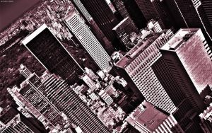 NYC Top of the Rock by StarwaltDesign