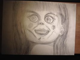 Annabelle Drawing by Chaoslink1