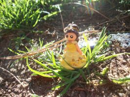 Belle Necklace Charm by AshiviAlpha