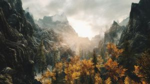 Scenic Skyrim by Vicki73