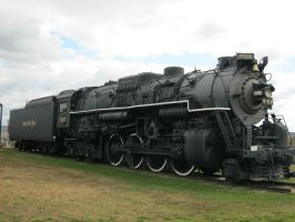 Nickel Plate Road 2-8-4 #757 by CSX5344
