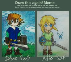 Meme: Before and After by morloz