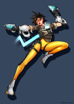 Tracer - Overwatch by NeoCoill