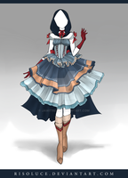 (CLOSED) Adoptable Outfit Auction 98 by Risoluce