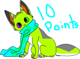 10 Point adopt -Closed- by Furry-Adopts576