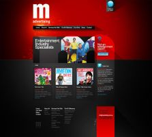 M Advertising Home Page Alt by scottrichardson