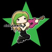 Avril: Black Star Tour by NickyToons