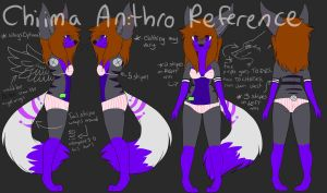 Chiima anthro Ref (OUT OF DATE, DON'T USE) by coffaefox