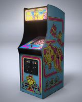 Ms. Pac-Man by nocomplys