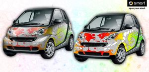 Smart Car - Wet Paint 1.1 by spatialchaos