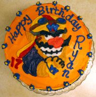Wario Takes The Cake by Redhead64