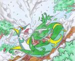 pokemon unleashed- serperior by SKDYFRNZM