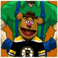 Welcome Bruins by Toyebot