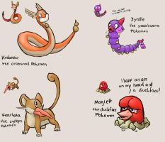 Pokemon Fusions by Rookie141