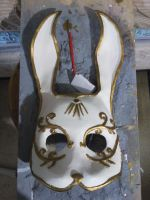 Bunny Splicer mask by nouseforaname17x