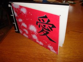 Japanese stab sketch book by Tidusvssora