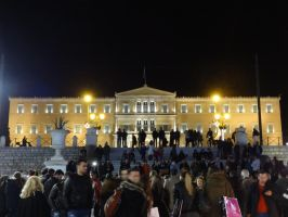 The Hellenic Parliament - Untouched by woodsman2b