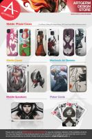 Artsprojekt Artgerm Design Store by Zazzle by Artgerm