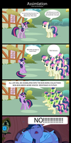 Assimilation (Comic by PonySalute) [Page 1] by PonySalute