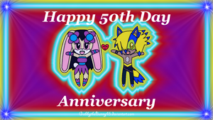 Happy 50th Day Anniversary by BabyBunnyBun