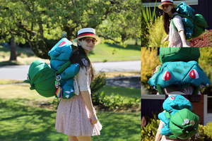 Bulbasaur Backpack by pahein