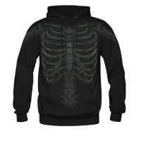 skeletal chest shirt by Zimprich