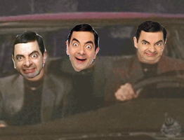What is Mr Bean gif by BoltandVulpix