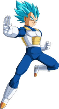 Vegeta Ssj blue by naironkr