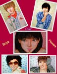 Boys over flowers: collage by Paradosik