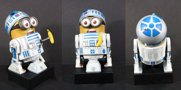 R2D2 Minion by kodykoala