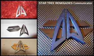 Star Trek Renegades Communicator Prop by Euderion