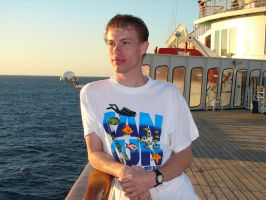 Me on a Cruise by Tymuthus